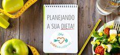 Planilhas organizadoras que podem ajudar (e muito!) na sua reeducação alimentar! Vem conferir!  #blogvidasaudavel #vidasaudavel #regime #dieta #emagrecimento #planilhas #organizadores #dieta