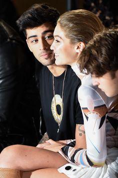 He looks so cute when he staring her beau Gigi...