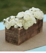 Cute for center pieces (Rustic Wedding ) - Rustic Barnwood  12x4   Planter Box  $11 each / 3 for $10 each
