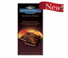 Intense Dark Mango Sunset Bar - Bars - SHOP PRODUCTS - SHOP PRODUCTS #GhirardelliChocolate I need to try this one!