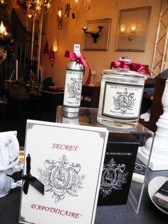 Pachyderm (Paris) Scented candles and room-spray/ bougies parfumées et vaporisateur par Secret d'apothicaire