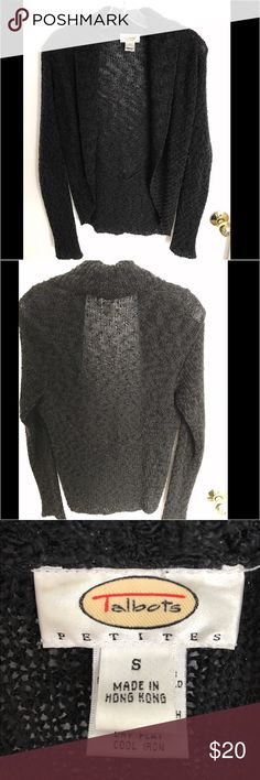 Talbots Cover Sweater EUC Beautiful talbots cover sweater to wear over sleeveless dresses. Classy! Talbots Sweaters Shrugs & Ponchos