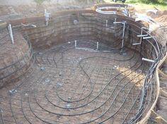 pool geothermal heat pump heat exchanger install