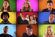 Ariana Grande, One Direction, Carrie Underwood, Sam Smith & More Sing 'We Are The Champions' on 'Tonight Show'