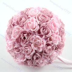 Elegant Silk Kissing Pomander Flowers Ball Pew Bows Wedding Party Decoration PK | eBay