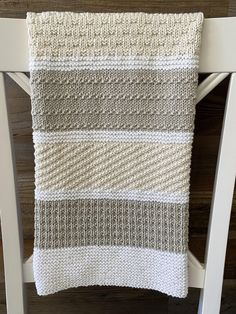 Baby Knitting Patterns, Free Baby Blanket Patterns, Baby Blanket Size, Easy Baby Blanket, Crochet Blanket Patterns, Neutral Baby Blankets, Knitted Baby Blankets, Modern Crochet Blanket, Baby Blanket Crochet
