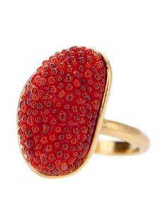 'Caviar'Ring by JACQUELINE CLARKE-UK #Ring #Jacqueline_Clark