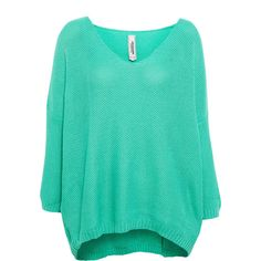 Pull & Bear V Neck Jersey ($3.85) ❤ liked on Polyvore featuring tops, sweaters, shirts, knitwear, water green, v-neck shirt, knitwear sweater, green v neck shirt, v neck tops and v-neck jersey