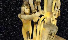 King Tutankhamun's Alabaster Perfume Vase from Burial Chamber