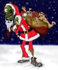 zombie santa claus - Google Search