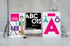 One city. One vision. One statement.—Stockholm by Essen International, via Behance
