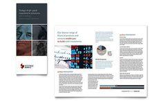 Contoh Pamflet Brosur Bank Investasi