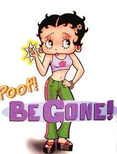Betty Boop Nurse Clip Art | Clip Art/Bambini/Cartoons/Betty Boop/Quadri/Betty Boop - Poof. Be Gone ...