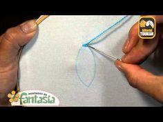Puntada margarita Puntadas de Fantasía - YouTube