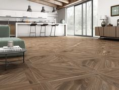 Kanna Nogal Porcelain Floor Tile Tiles from - Tons of Tiles Parquet Tiles, Oak Parquet Flooring, Hardwood Floors, Wood Effect Floor Tiles, Wall And Floor Tiles, Floor Rugs, Dark Brown Walls, House Tiles, Porcelain Floor