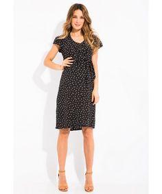 f868300ffbfe Envie de Fraises Sila Spotted Maternity Dress. Vestiti Premaman