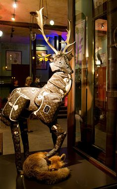 Vuitton Deer-why?  Its weird but I love Louis Vuitton.