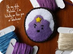 Adventure Time: LSP Felt Pin