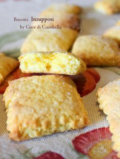 Italian Cookie Recipes, Italian Cookies, Biscotti Cookies, Galletas Cookies, Biscuit Dessert Recipe, Dessert Recipes, Desserts Around The World, Italian Biscuits, Lemon Drop Cookies