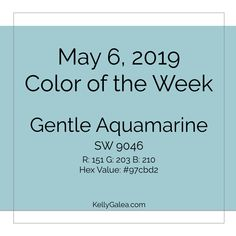 Your Color of the Week and forecast for the week of May 6, 2019. This week's energy will help us to envision what could be in each area of our lives.