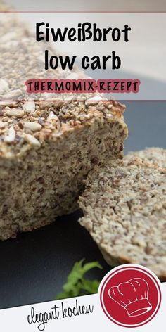 Eiweißbrot low carb backen Eiweißbrot low carb backen - Happy Cooking , In the food recipe that you read this time with t. Get this Wonderful low carb backen Eiweißbrot low carb backen Protein Bread, Low Carb Protein, Healthy Protein, Protein Foods, Lowest Carb Bread Recipe, Low Carb Bread, Paleo Bread, Challah, Healthy Chocolate Shakes