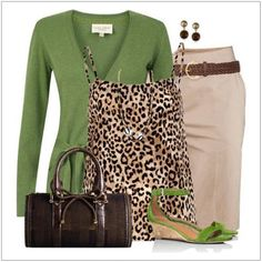 CHATA'S DAILY TIP: Shades of gorgeous greens continue their summer on-trend status. Wearing eye-catching patterns, with brighter colours on the top half of your body, draws the eye upwards taking attention away from the tummy and hip areas. COPY CREDIT: Chata Romano Image Consultant, Michele Cox http://chataromano.com/consultant/michele-cox/ IMAGE CREDIT: Pinterest