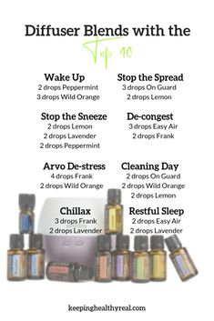 Diffuser blends using the Top 10 oils - Aromatic use can be effective for things. - Diffuser blends using the Top 10 oils – Aromatic use can be effective for things like managing yo - Essential Oils Guide, Essential Oils For Headaches, Essential Oil Diffuser Blends, Essential Oil Uses, Doterra Essential Oils, Doterra Diffuser, Purifier, Cleaning Day, Shampoo