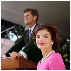 Classically beautiful. Mrs. Kennedy.