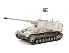 The Tamiya 1/35 German Nashorn is a plastic model kit in the Tamiya 1/35 Military Plastic Model Kits range.