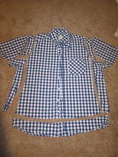 mens shirt refashion