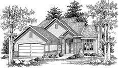 Eplans Cottage House Plan - Alluring Two-Story Beauty - 1342 Square Feet and 3 Bedrooms(s) from Eplans - House Plan Code HWEPL05866