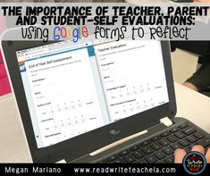 The Importance of Teacher, Parent and Student-Self Evaluations using Google Forms Secondary Resources, Writing Resources, Writing Skills, Student Self Evaluation, Teacher Evaluation, English Language, Language Arts, 6th Grade Reading, Vocabulary Practice