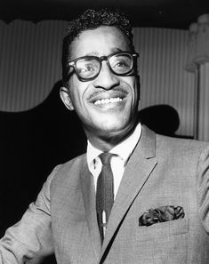 **40 . Sammy Davis Jr. ** As turtlenecks make a comeback, we salute Sammy, who looked as good in a slim Rat Pack suit as he did rocking '70s cocktail party casual. Respect the Candy Man.