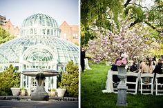 Wedding location: Brooklyn Botanical Gardens