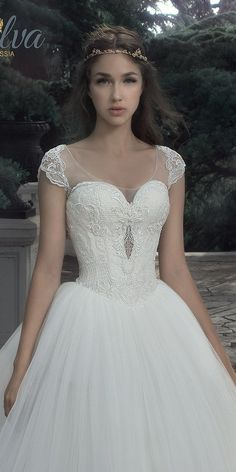 Milva Bridal Wedding Dresses 2017 Sunrise / http://www.deerpearlflowers.com/milva-wedding-dresses/2/