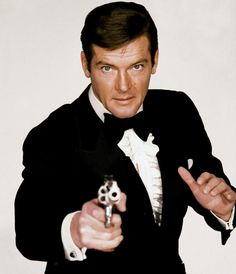 James Bond (Roger Moore is my favourite Bond, then Pierce Brosnan, Sean Connery, Daniel Craig, Timothy Dalton and last George Lazenby) Style James Bond, James Bond Girls, James Bond Theme, Roger Moore, James Bond Skyfall, James Bond Movies, All James Bond Actors, Grace Jones, Sean Connery