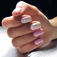80+ Glitter (Tinsel, Sparkle) nail designs for short nails ideas 2018