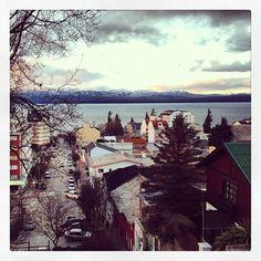 Atardecer en la ciudad de Bariloche