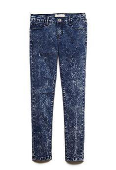 Acid Wash Skinny Jeans (Kids) | FOREVER21 girls - 2000085752