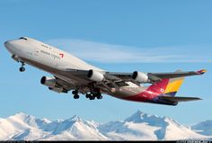 Asiana Airlines Cargo HL7417 Boeing 747-48EM aircraft picture