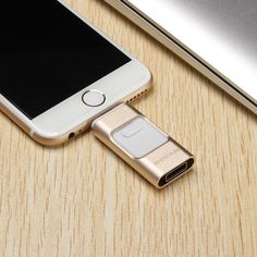 POFAN 3 IN 1 64GB Mobile Lightning & USB 3.0 Flash Drive U Disk for iPhone…