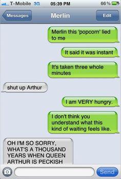 Texts From Arthur • Popcorn