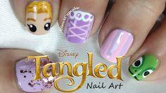 Tangled Nail Art