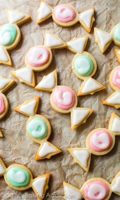 Candy Sugar Cookies & a Video!