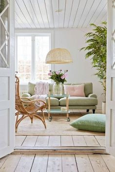 Ideas y mucha inspiración para decorar una casa de playa #hogarhabitissimo