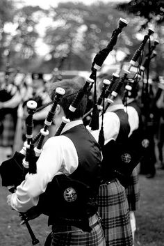 Bagpipes--something about them makes the hair rise on the back of the neck and brings tears to the eyes. So haunting and melancholy,  love them!