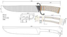 Чертежи ножей для изготовления. Часть 2 | LastDay Club image 27