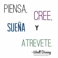 Frases, #Frases de sueños -Walt Disney