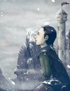 Young Loki<<It seldom snowed in Asgard...But Loki always loved it...He didn't know why...He just did.