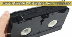 VHSTransfer. Pinning this because I hope to one day transfer all our old home movies.